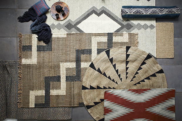 West Elm rugs inspired by the MIAC collection